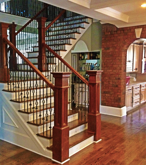 charleston hardwood staircase