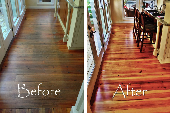 Charleston Floor Repair – Signature Hardwoods Inc